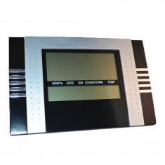 Ceas multifunctional cu alarma 5850, Negru/Gri