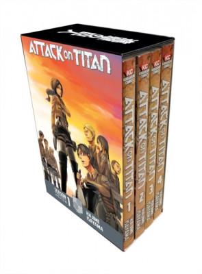 Attack on Titan Season 1 Part 1 Manga Box Set foto