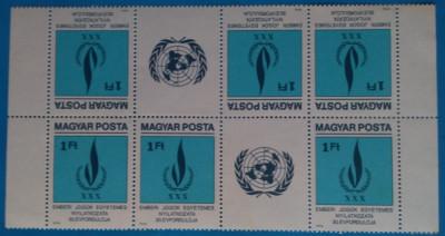 UNGARIA -1979-Drepturi  pt.Om-2 Straif tete beche de 3+vineta-MNH  (Mi=35e) foto