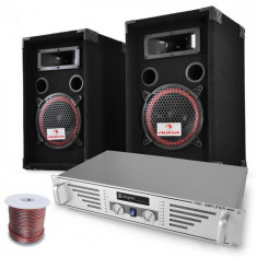 """Electronic-Star DJ-PA-Set """"Funky Breakbeats"""" difuzoare AMP 1000W"""
