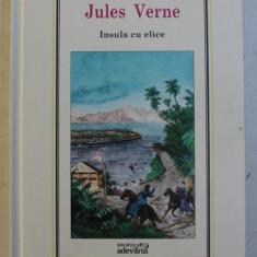 INSULA CU ELICE de JULES VERNE , NUMARUL 16 DIN SERIA ' JULES VERNE ' , 2010