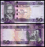 = SOUTH SUDAN - 50 POUND - 2017 - UNC    =