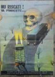 Afis Protectia Muncii din perioada comunista