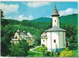 Bnk cp Manastirea Varatec - Vedere - uzata - marca fixa, Circulata, Printata, Agapia