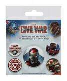 Insigna - Captain America Civil War - mai multe modele   Pyramid International