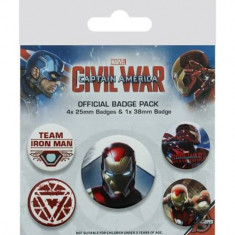 Insigna - Captain America Civil War - mai multe modele | Pyramid International