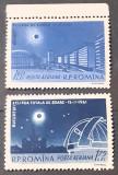 Cumpara ieftin Romania 1961 LP 520 eclipsa totala de soare serie 2v. Mnh margine coala