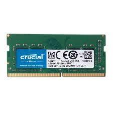 Memorie laptop sodimm DDR4 8 gb, 2400 mhz, Crucial, sigilate, garantie
