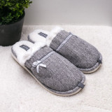 Papuci dama de casa gri Raunia-rl