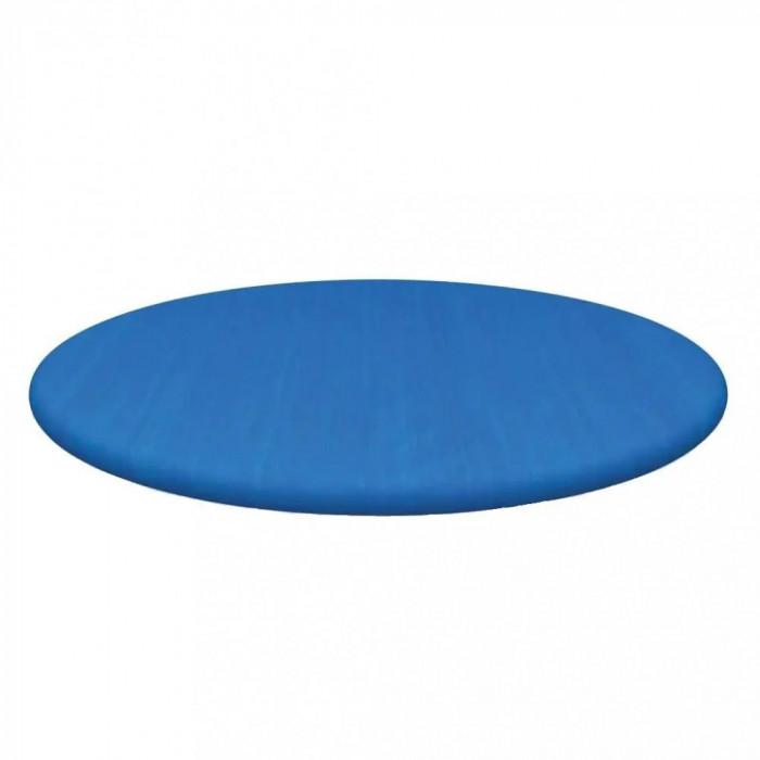 Prelata / Husa rotunda pentru piscina goflabila FastSet Bestway, diametru 305 cm, albastru