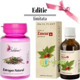 Estrogen Natural 60Cpr + Mladite De Zmeur 50ml Pachet 1+1 GRATIS