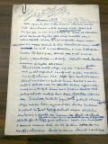 Manuscris Prof. Univ Calin Popovici - Astronomia (astrofizica) in R. P. Romania