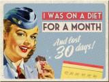 Cumpara ieftin Magnet - On a Diet For a Month