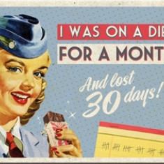 Magnet - On a Diet For a Month