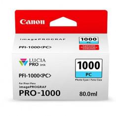 Cartus cerneala Canon PFI-1000PC , photo cyan