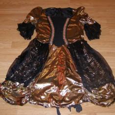 costum carnaval serbare rochie medievala printesa pentru adulti marime S