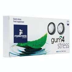 Guma de Mestecat Fara Zahar Gum4 Stress Myelements 10buc Cod: 2997