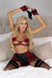 Cumpara ieftin LIV210-812 Set de lenjerie sexy format din patru piese - Livia Corsetti