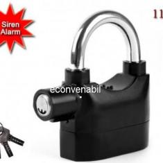 Lacat cu Alarma Antiefractie 110dB XW