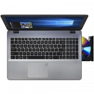 "Laptop ASUS VivoBook Pro 17 N705UF-GC009, nVidia GeForce MX130 2GB, RAM 8GB, SSD 128GB + HDD 1TB, Intel Core i7-8550U, 17.3"", Endless OS, Dark Gr"