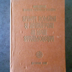 SFINTI ROMANI SI APARATORI AI LEGII STRAMOSESTI (1987)