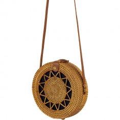 Handmade Natural Rattan Shoulder Bag