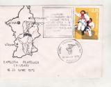 bnk fil Plic ocazional Expofil Calusarii ed I 1979 - Pitesti