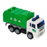 Masina de gunoi City Sanitation, sunete si lumini, 27 x 9 x 12.5 cm, Oem