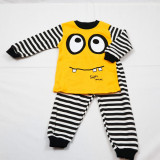 Cumpara ieftin Pijama 2 Piese Super Minnie Galben Bumbac Baieti 1-3 Ani
