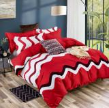 Cumpara ieftin Lenjerie de pat dublu din microfibră, cu 2 fete de perna, Evia Home MF010/37