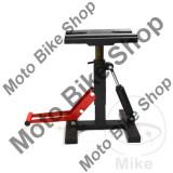 MBS Stender motocross/enduro, cu amortizare, negru/rosu, reglabil 330 - 430mm, Cod Produs: 7220466MA