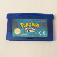 Joc Nintendo Gameboy Advance GBA - Pokemon Saphire Version