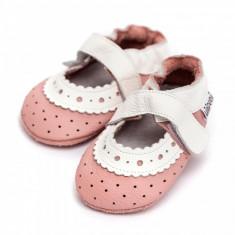 Sandale cu talpa moale Liliputi Baby Rose