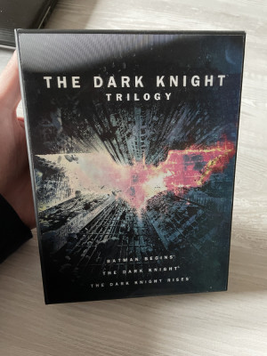 Trilogia The Dark Knight (6 DVD-uri) - BoxSet , sub. romana, NOU! foto