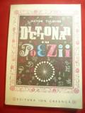 Victor Tulbure - Dictionar cu Poezii - Ed Ion Creanga ,ilustratii Angi Petrescu-