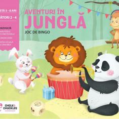 Joc de bingo - Aventuri in jungla PlayLearn Toys