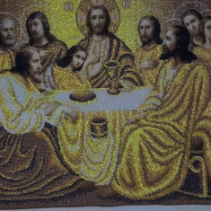 icoane ortodoxe cusute cu margele