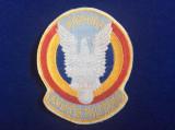 Efecte militare - Emblemă textilă - Aviația Militară (primul ecuson de aviație)