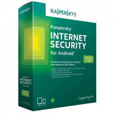 Antivirus Kaspersky Internet Security for Android EEMEA Edition 1 user 1 an Renewal License Pack