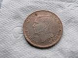 Romania 500 lei 1944 argint .xf 1