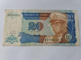 Zair 20 zaire 1993