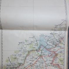 Harta Carei, Cig, Vășad, Dindești, Piscari, 1928
