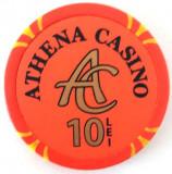 Jeton Athena Casino 10 Lei
