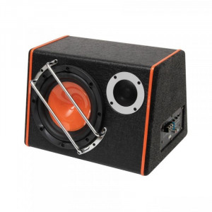 Subwoofer auto activ 2 in1, 80W, 200 mm, 4 Ohmi, bass-reflex, SAL