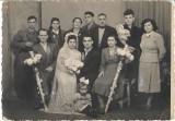 Fotografie militar roman la nunta mire mireasa