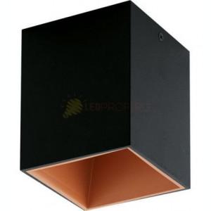 PLAFONIERA LED 3.3W NEGRU CUPRU