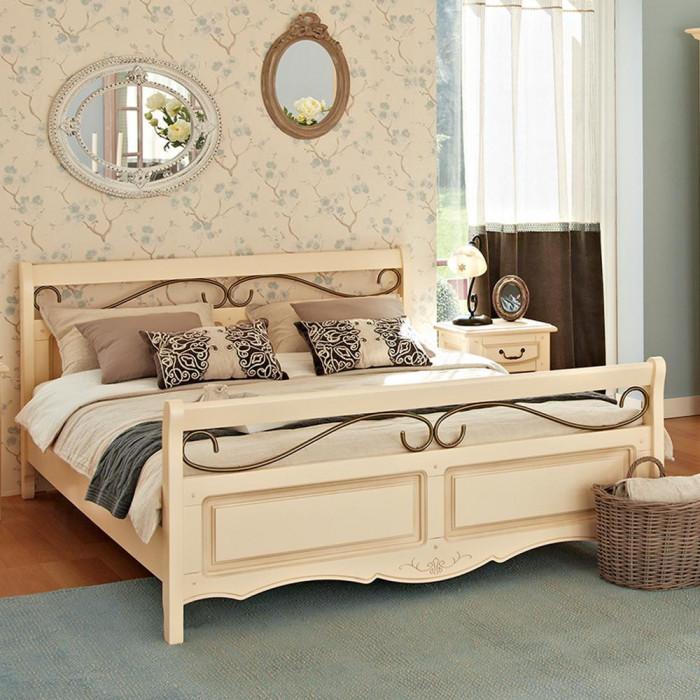Dormitor Mobexpert Vence - Pat 160x200 cu noptiere, somiera si saltea