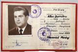 """Diploma de maistru RPR  Grupul scolar """"Steagul Rosu""""  Orasul Stalin 1960"""