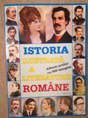 Istoria ilustrată a literaturii rom., Boris Crăciun, 900 imagini, 350 prezentări foto