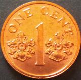 Moneda 1 CENT - SINGAPORE, anul 2000 *cod 5188 - UNC, Asia